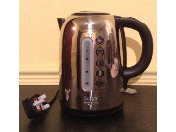 Russell Hobbs Nevis Polished Kettle