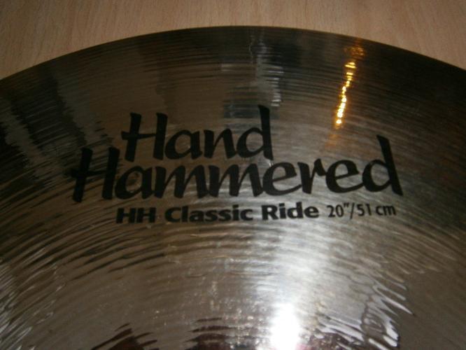 SABIAN HAND HAMMERED 20