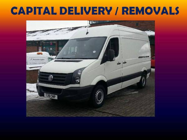 Same Day DELIVERY House REMOVALS Van MAN and VAN