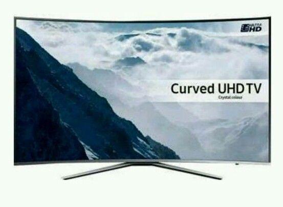 Samsung 49 inch 4k smart curved led TV. UHD TV