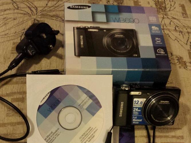 Samsung camera 18 zoom