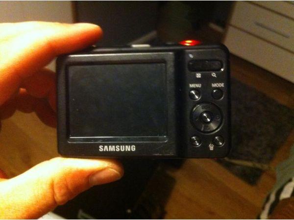 Samsung red digital camera