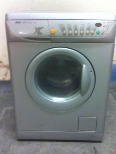 Silver Zanussi Washing Machine