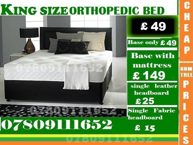 Single / Double / King Sizes Bed Super Orthopedic Bed