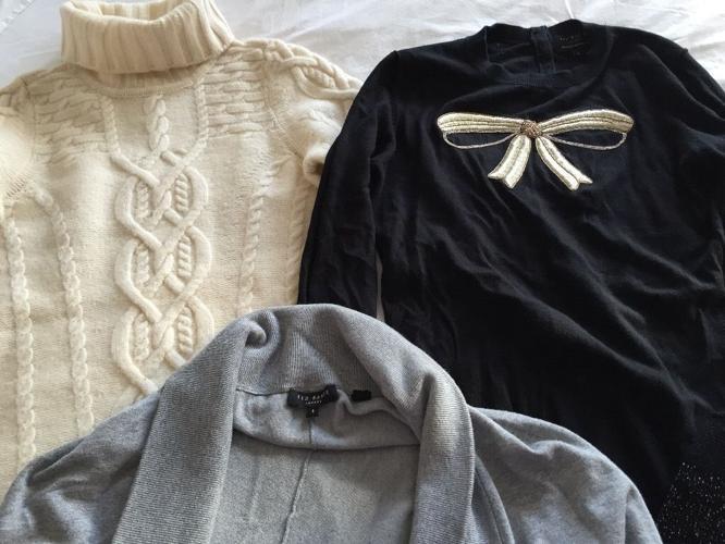 Size 8 clothes bundle Ted baker reiss whistles fc Karen