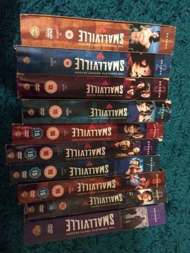 Smallville boxsets