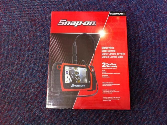 Snap-On BK5600DUAL55 Digital Video/Still Shot