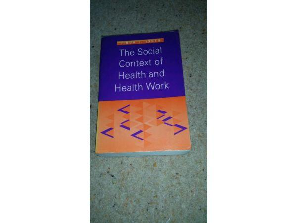 Social context of health and health work