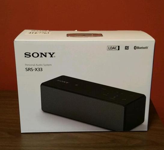 Sony bluetooth speaker wireless (Brand New) sealed box