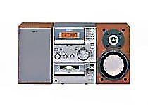 Sony CMT-CP100 Micro Hi-Fi CD/Cassette/Tuner/Remote -