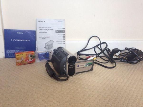 Sony Handcam video camera