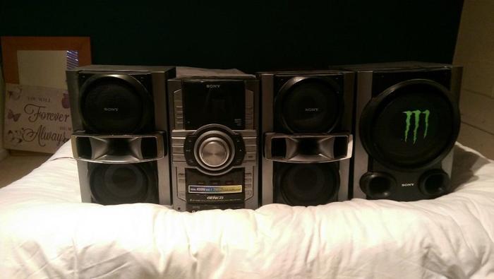 Sony MHC-GT444 Mini hi-fi