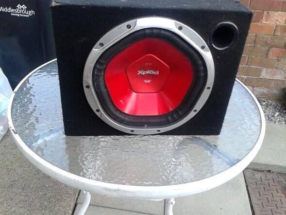 sony xplod stereo system