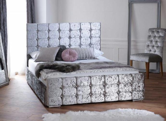 Sophia Crushed velvet bed