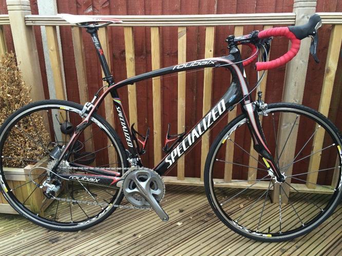 Specialized Roubaix Pro Carbon, Mavic R-Sys, FSA SLK,