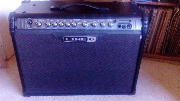 spider line6 Mk 3 120watt amp & shortboard not gigged,
