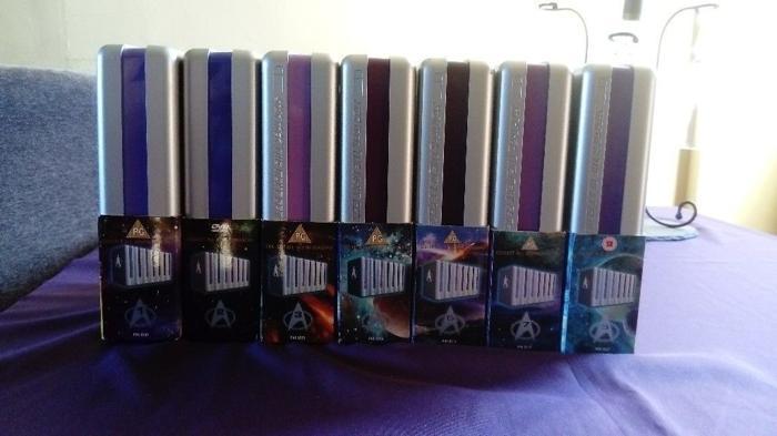Star Trek The Next Generation - TNG - DVDs complete