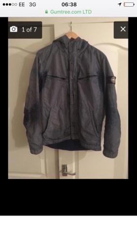 Stone Island pixel jacket