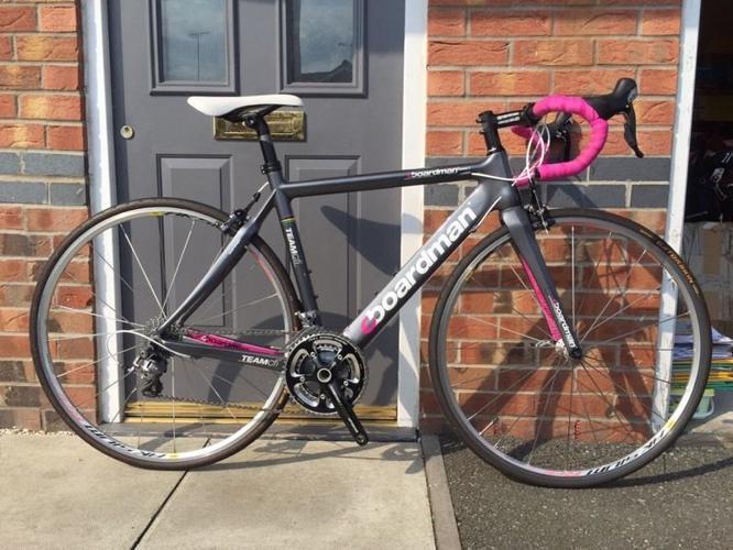Superb women's Carbon Boardman Road Bike