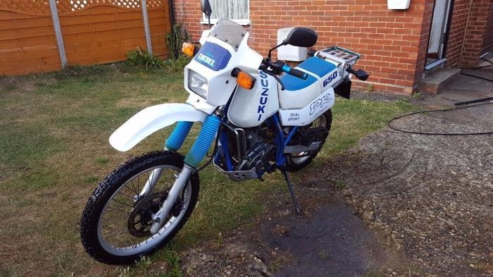 Suzuki DR650 DJEBEL