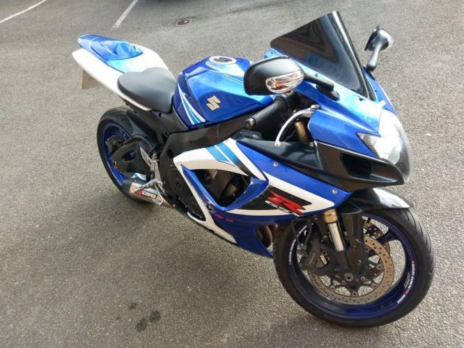 Suzuki gsxr600 k8 tail tidy scorpion
