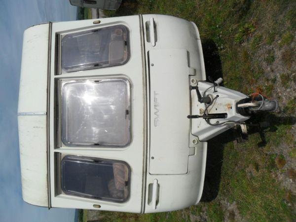 Swift Caravan 4 berth