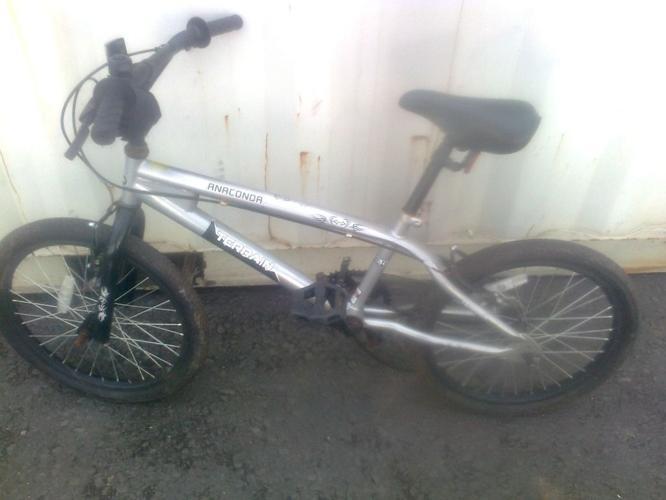 TERRAIN ANACONDA BMX BIKE SINGLE SPEED 20 INCH WHEEL
