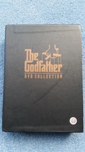 The Godfather Boxset, Part 1+2+3 and Bonus Materials,