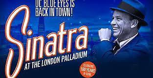 Sinatra: The Man and his Music - London Palladium, Sat