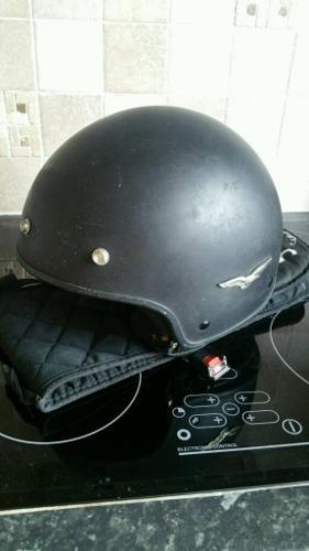 Three Motorbike Helmets (L to XL)