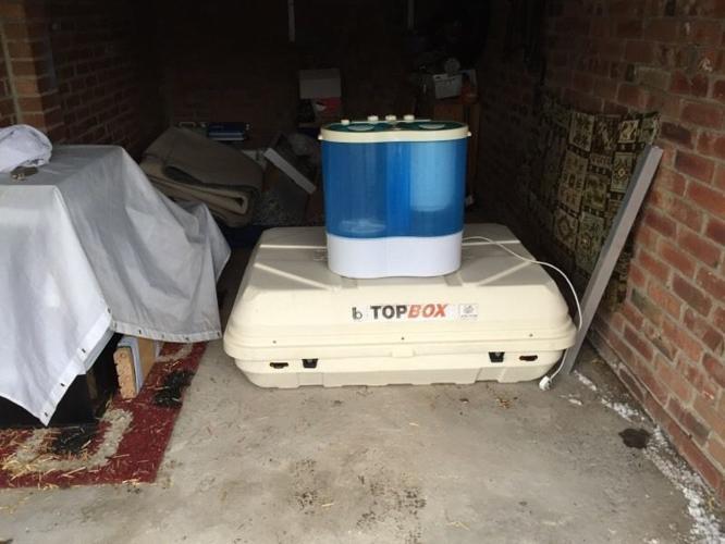 Top box and twin tub