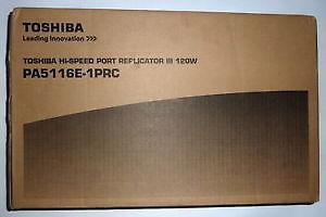 Toshiba Hi-Speed Port Replicator III 120W UK