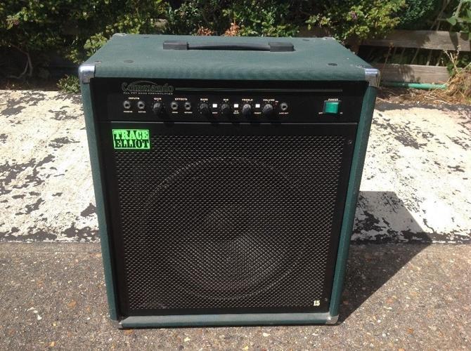 Trace Elliot 100W commando bass amp