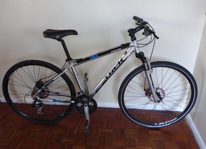 Trek Hybrid Bicycle.