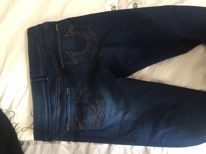 True religion runway jeans size 10