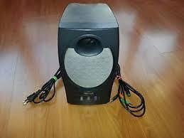 Trust Soundwave 2000P stereo subwoofer speaker system