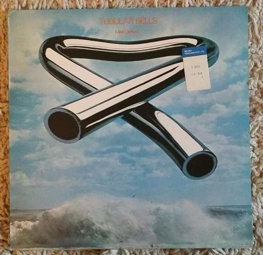 Tubular Bells Mike Oldfield 1st Edition Vintage Vinyl