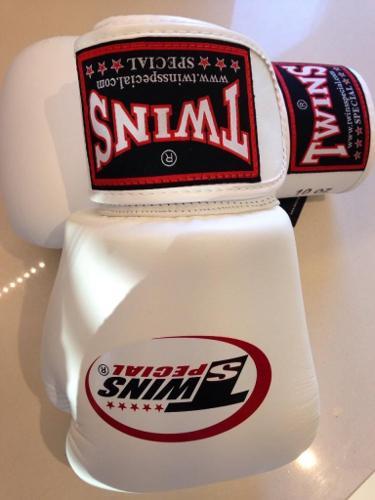 Twins Boxing Gloves BGVL- white 10oz