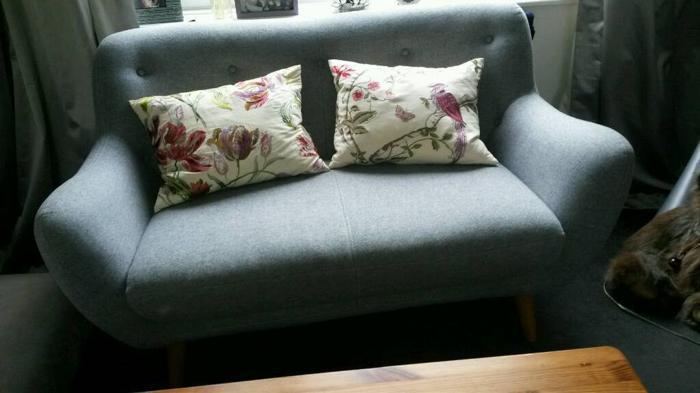 Two Laura Ashley cushions. Fab condition. Very elegant.