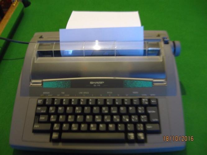 Typewriter Sharp QL-110