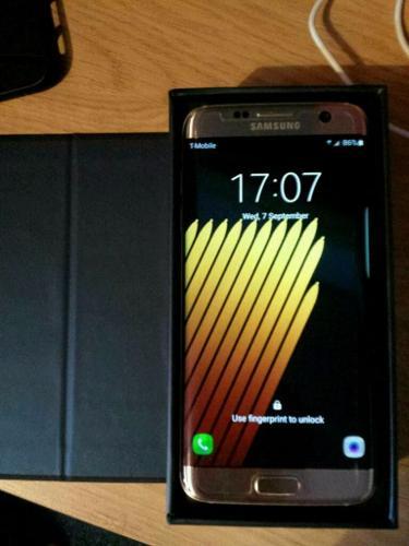 Unlocked Samsung Galaxy S7 Edge Boxed Grade A