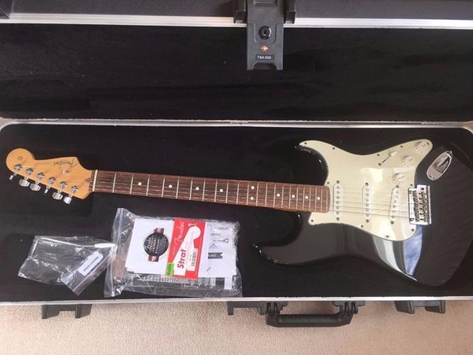 USA Fender American Standard Stratocaster Fender Hard