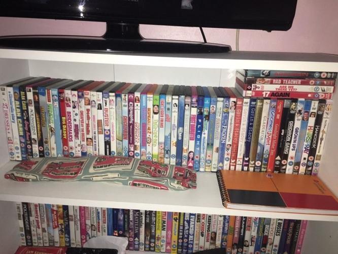 Variety of DVD's