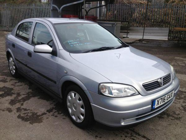 Vauxhall Astra Club 1.6i Automatic, MOT 10th Sept 2015,