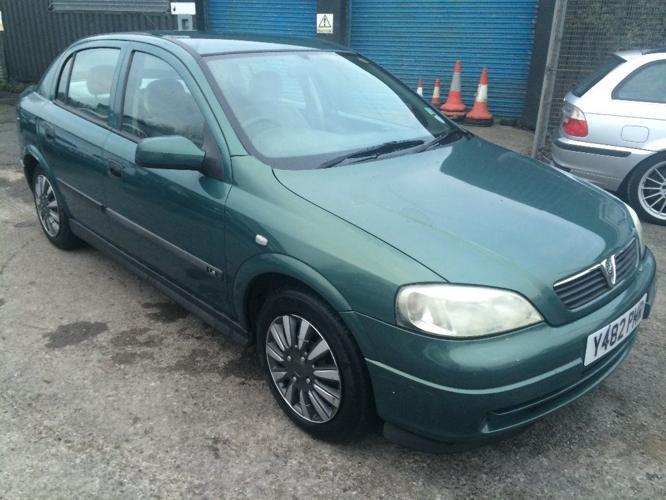Vauxhall Astra LS 1.7 DTi DIESEL, 2001/Y Reg, MOT'd