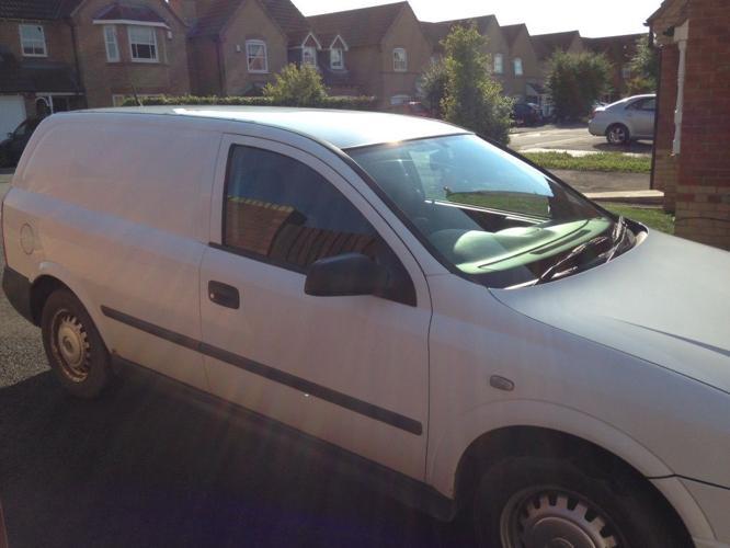 Vauxhall Astra van 1.7 DTI 03 plate