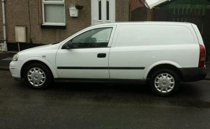 Vauxhall astra van 1.7 dti