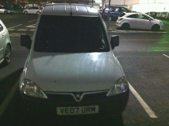 Vauxhall Combo 1700 CDTI 1300cc Diesel, 7 months MOT