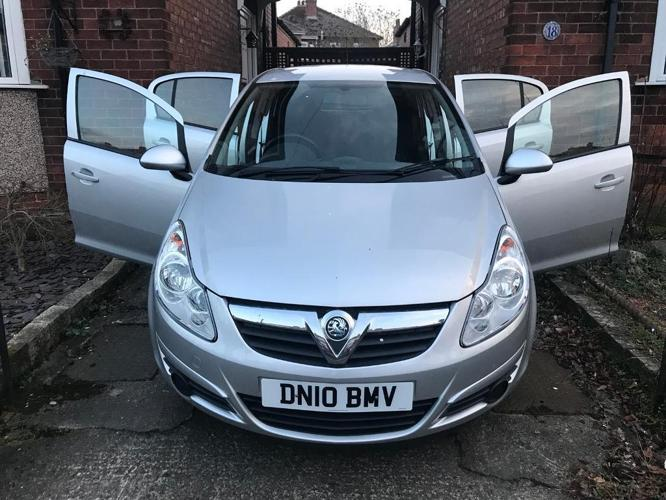 Vauxhall Corsa 1.2i 16V Exclusive 5 Dr 2010 Very Low