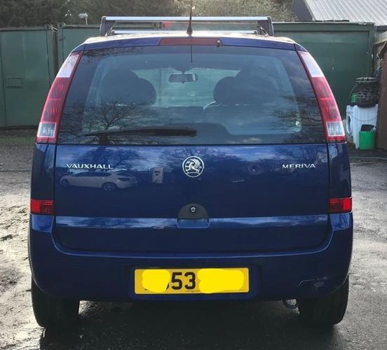 Vauxhall meriva enjoy 8V for sale, service history,